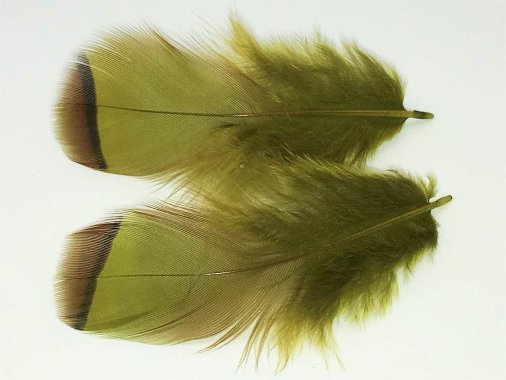 Veniard - French Partridge Hackles - Olive