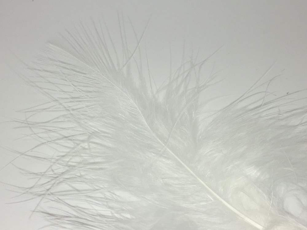 Bag Loose OLIVE Turkey Marabou Feathers for Fly Tying 1//4 oz