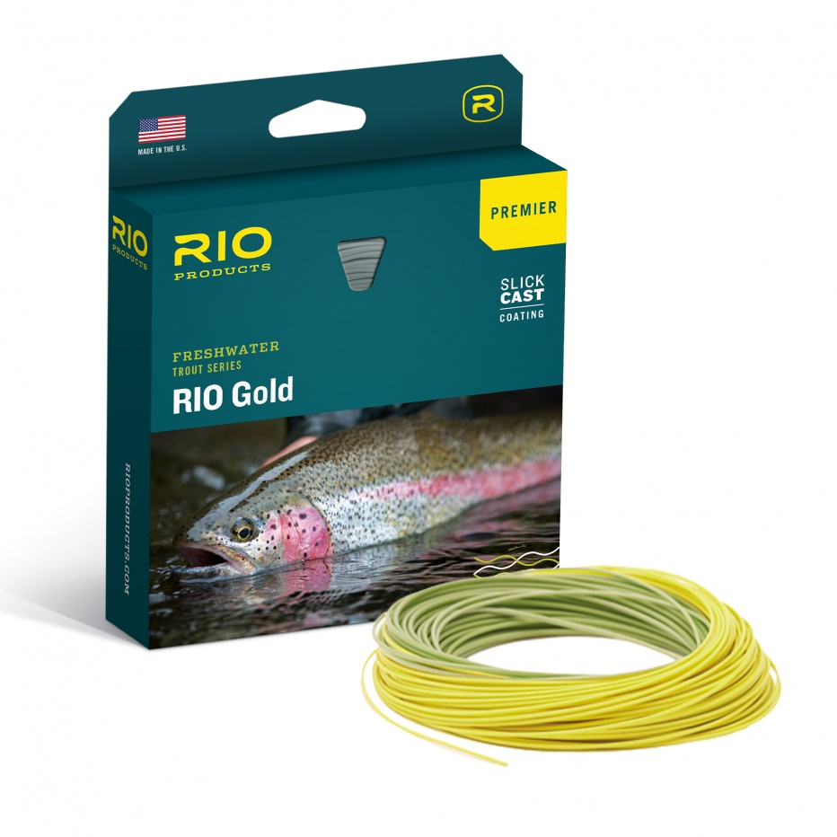 Rio Products - Premier Rio Gold - Moss / Gold - WF9