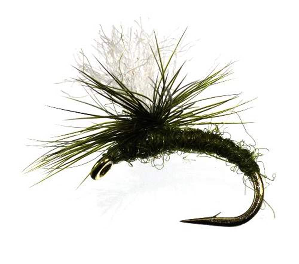 Klinkhammer Olive White Posts Heavy Hackle