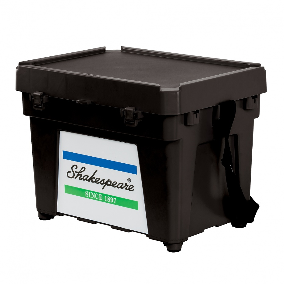 Shakespeare Shakespeare Seatbox - Black (Comes With Strap And 1 X Tray)