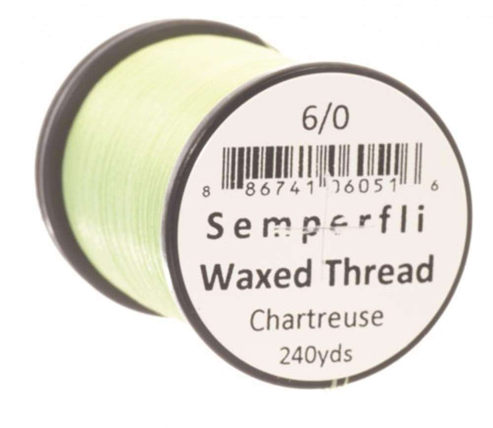 Classic Waxed Thread 6/0 240 Yards - Chartreuse