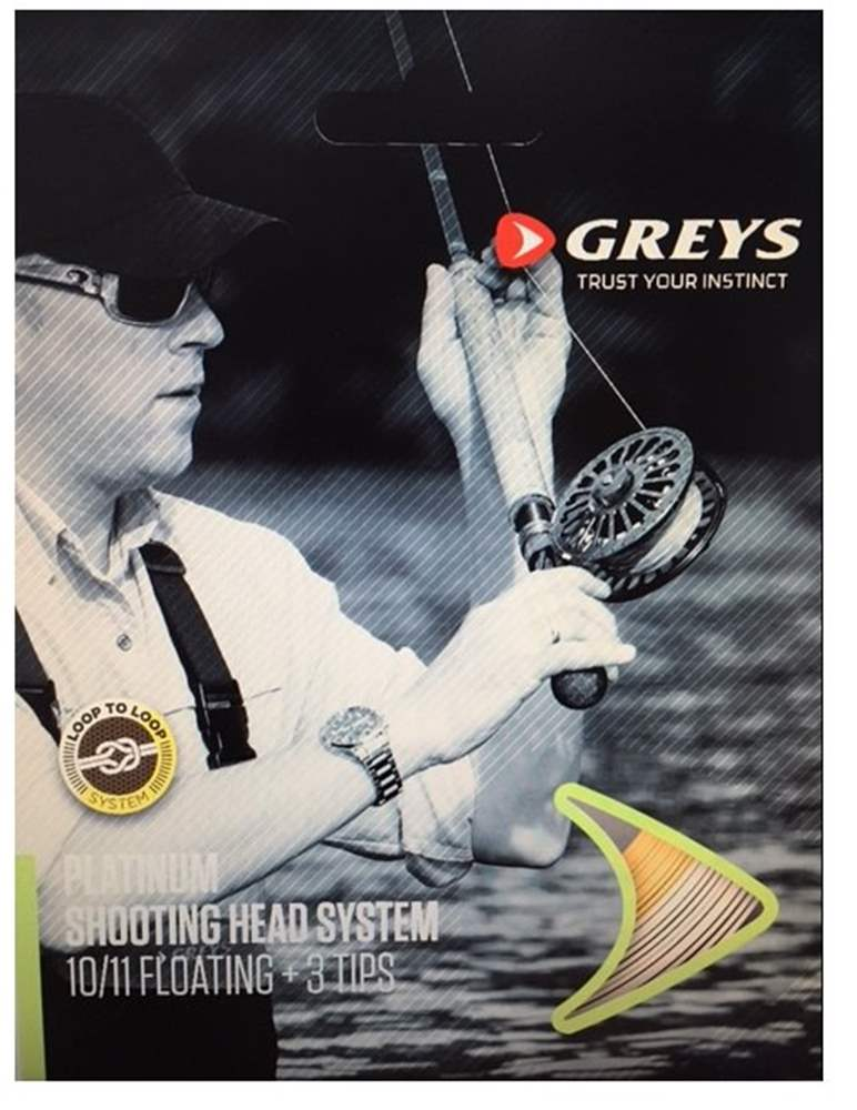 Greys Platinum Shooting Head System - Floating #10/11