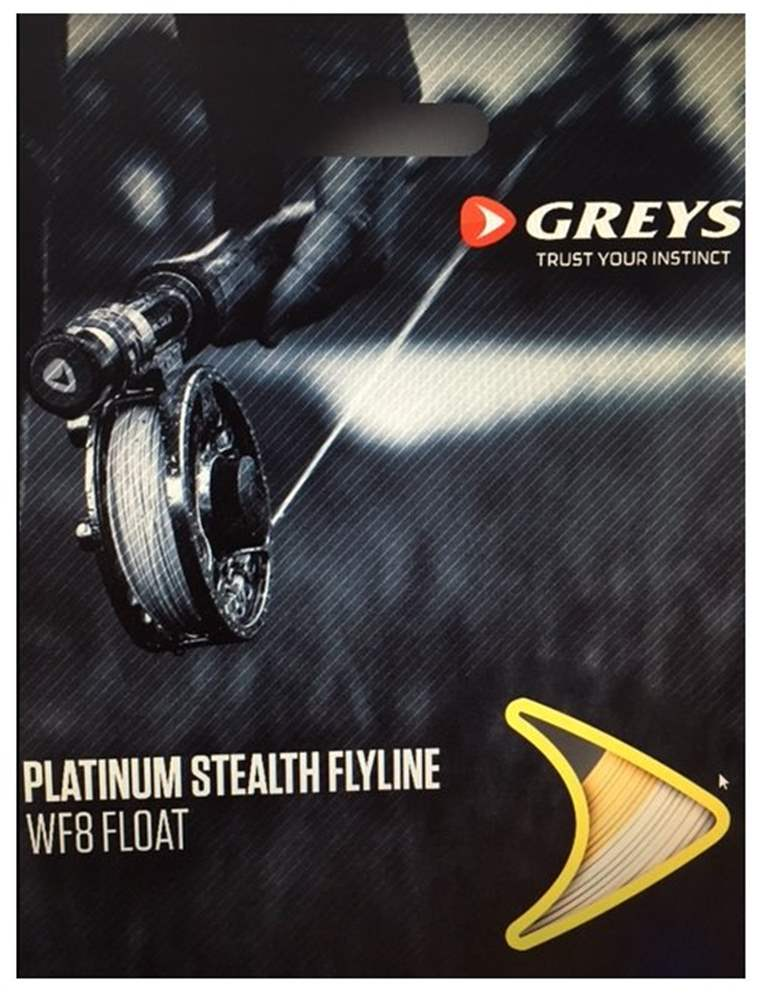 Greys Platinum Stealth Fly Line - Floating WF6