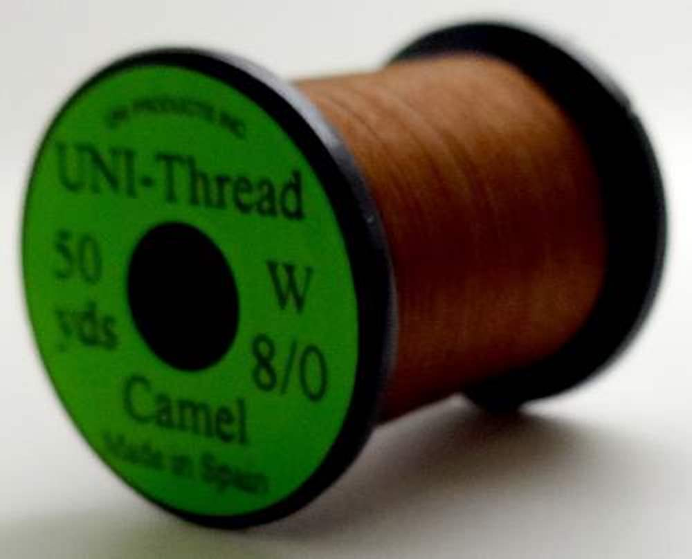 Uni - Pre Waxed Thread - 6/0 - 50 Yards - Camel