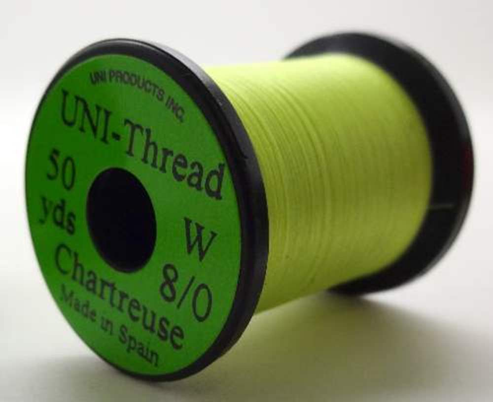 Uni - Pre Waxed Thread - 6/0 - 50 Yards - Chartreuse