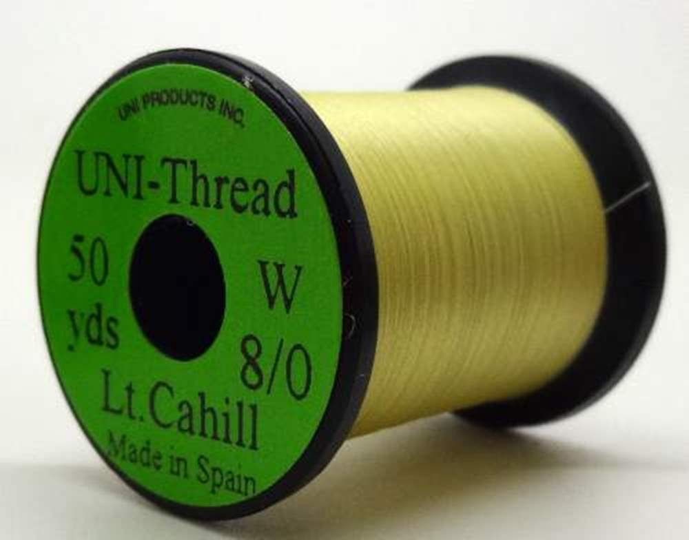 Uni - Pre Waxed Thread - 6/0 - 200 Yards - Primrose / Light Cahill