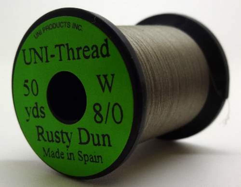 Uni - Pre Waxed Thread - 6/0 - 200 Yards - Rusty Dun