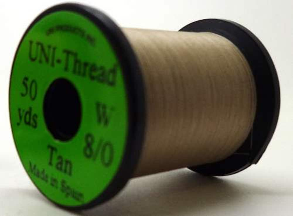 Uni Pre Waxed Thread 6/0 50Y Tan
