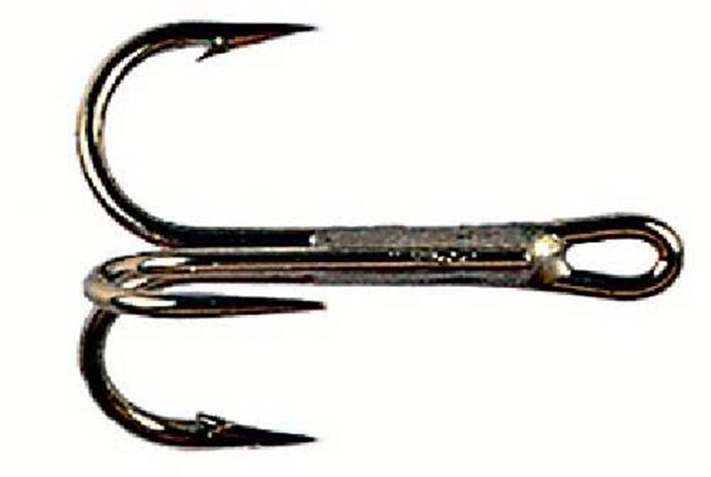 Kamasan Hooks (Pack of 10) - B990 Tube Fly Trebles (Treble Hook) Size 2