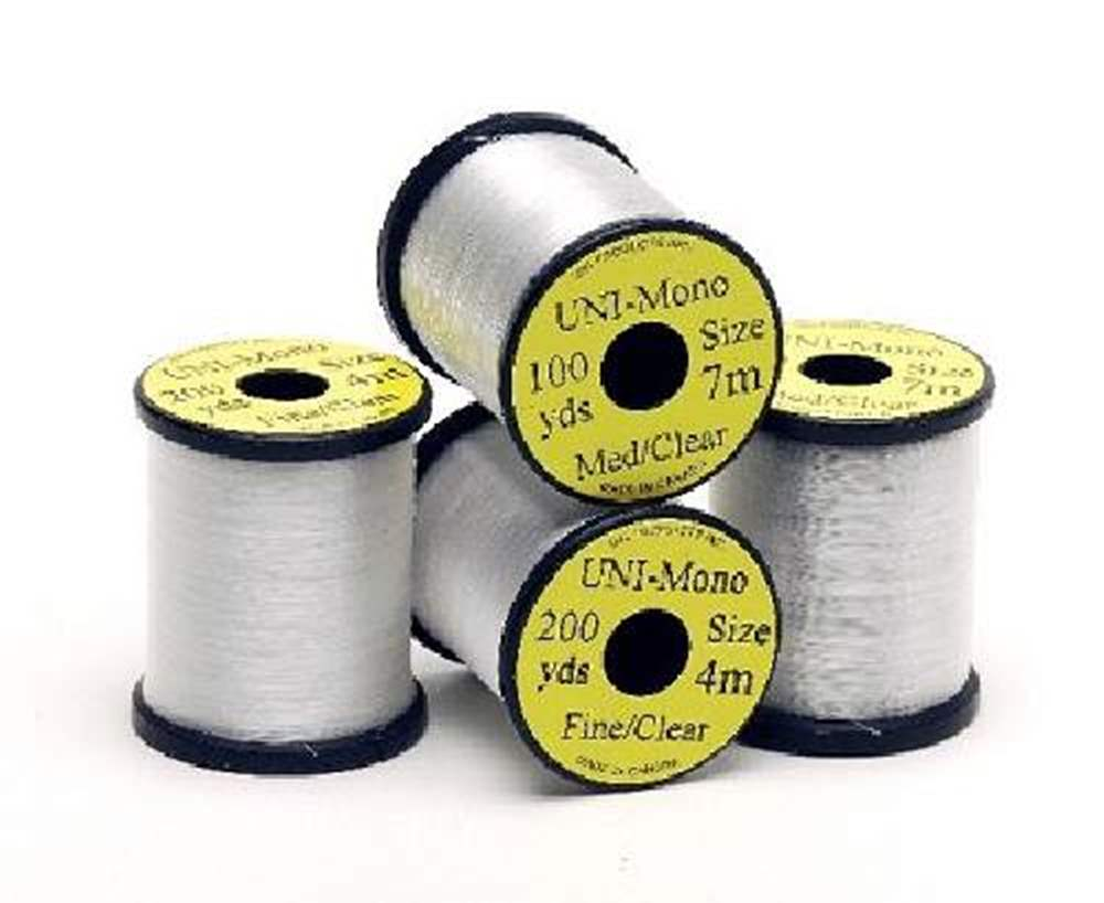 Uni Mono Clear Tying Thread 100Y Medium (.007)