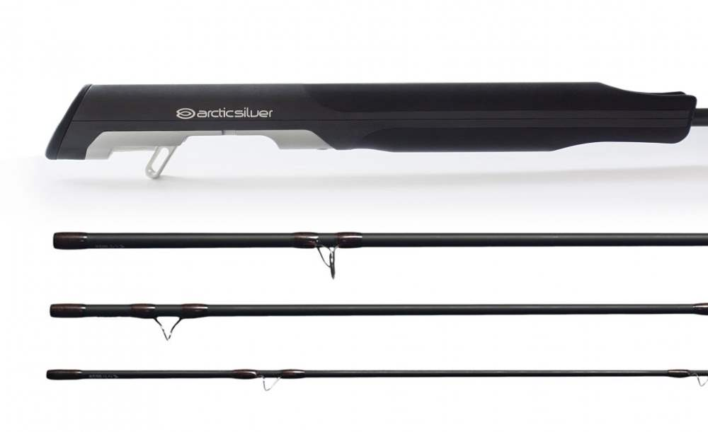 ArcticSilver #10 9' 4psc Fast Action Zense Fly Rod