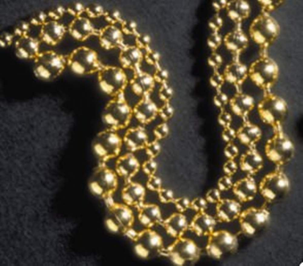 Bead Chain Gold | 2.4mm | Small