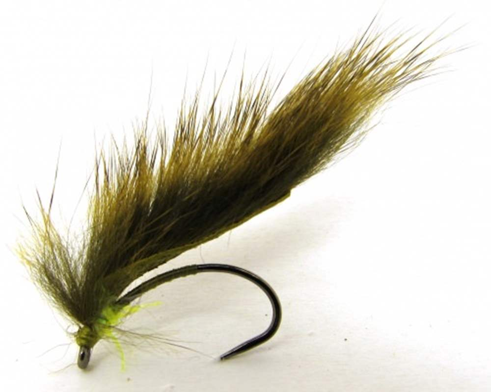 Barbless Marsden Mohican Olive & Green