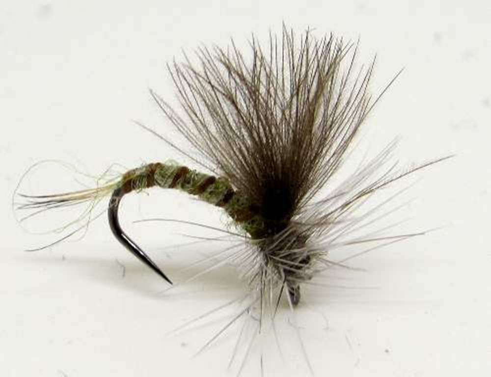 Barbless Cdc Olive Emerger