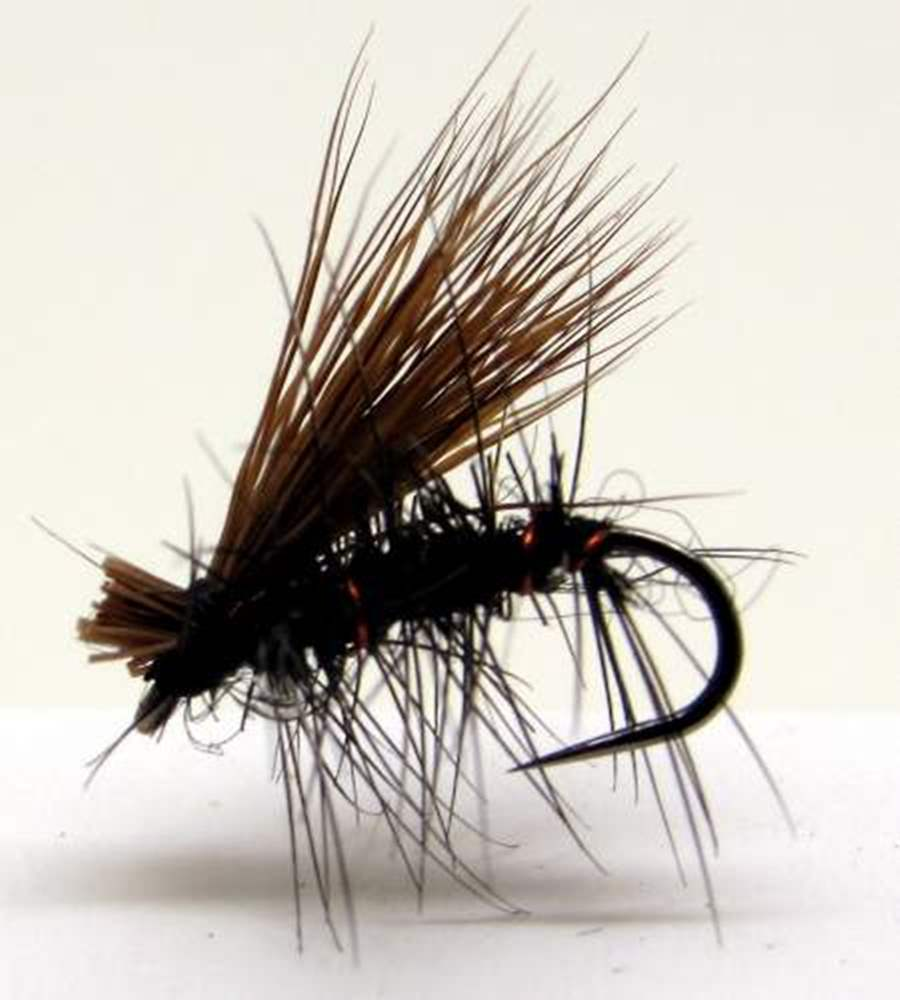 Barbless Elk Hair Caddis Black
