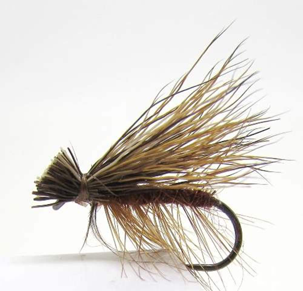 Barbless Elk Hair Caddis Brown