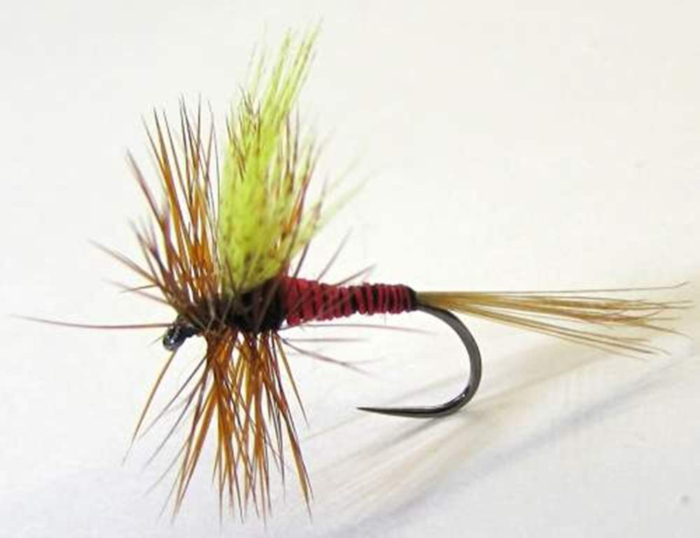 Barbless Red Quill