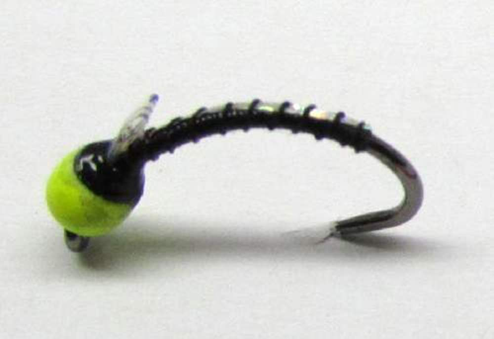 Barbless Tungsten Depth Charge Flashback Buzzer Yellow