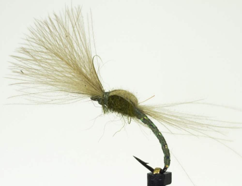 Shuttlecock Olive Cdc Emerger
