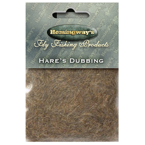 Hemmingway - Hares Ear Dubbing - Brown