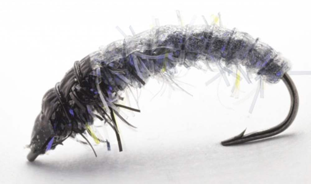 HVK Caseless Caddis Iron Blue