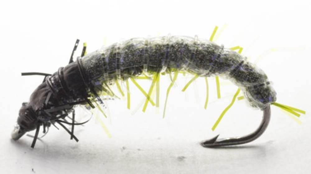 HVK Caseless Caddis Dark Green Olive