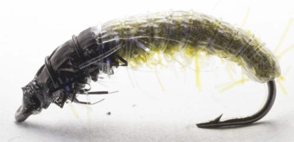 HVK Caseless Caddis Pale Olive