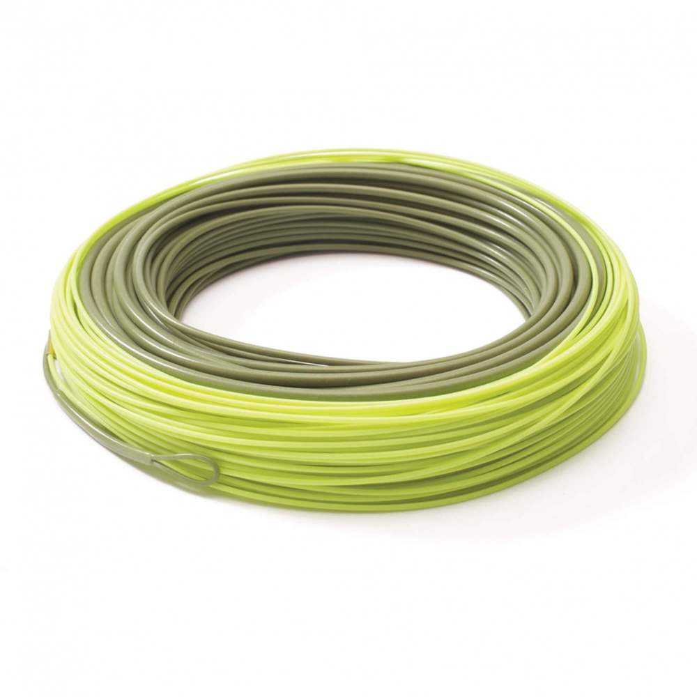 CLS - Rio Products - Traditional Spey - InTouch Scandi OutBound - Green / Hot Orange / Straw - WF11 / 640gr.