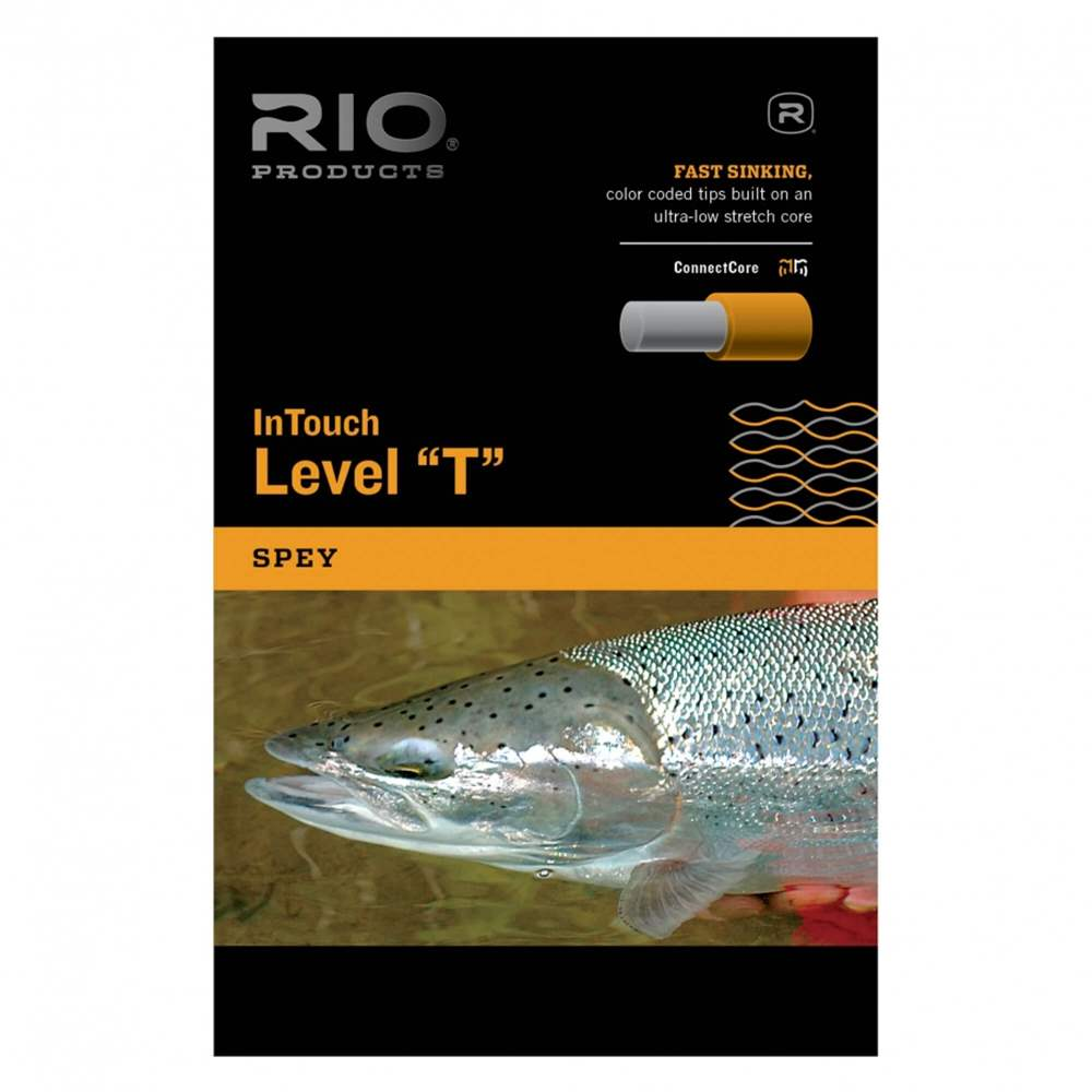 Rio Products - InTouch Level ''T'' Tips - Black - 20 Grain - T-20