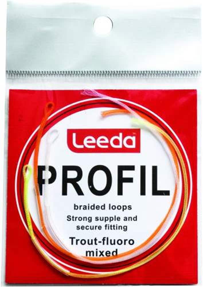 Profil Braided Loops Trout Flouro Mixed
