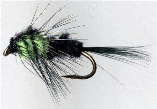 Montana Green Short Shank Hook