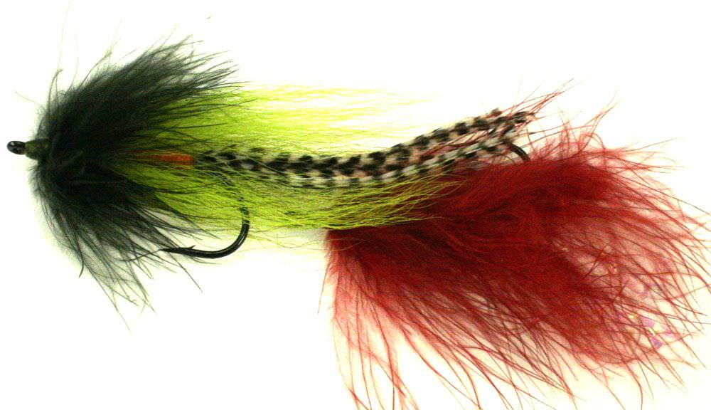 Tandem Marabou / Buck Tail Pike Streamer