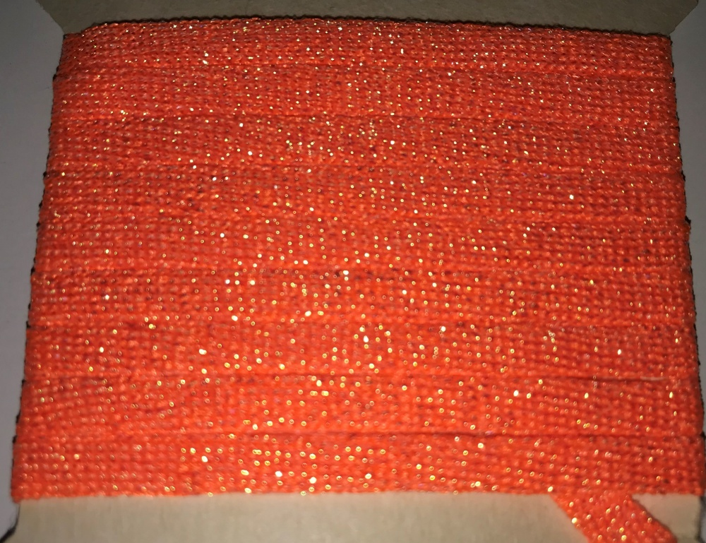Lureflash - Fishscale Body Tube - Large - Fl. Orange