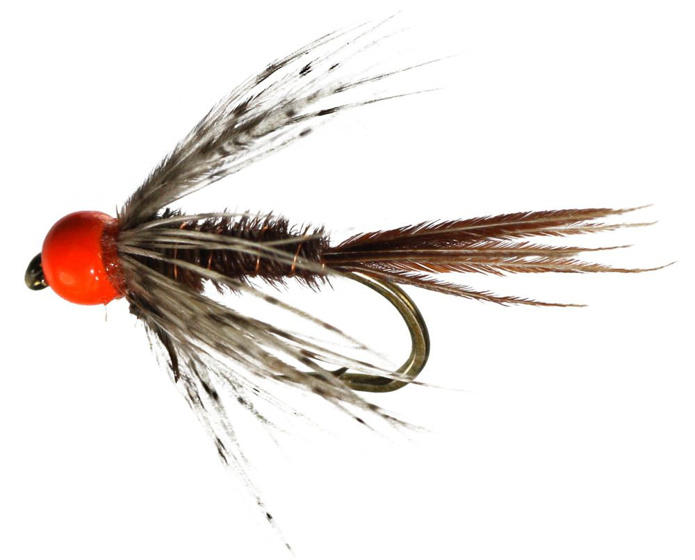 Tungsten Endrick Spider Fluoro Orange Colour