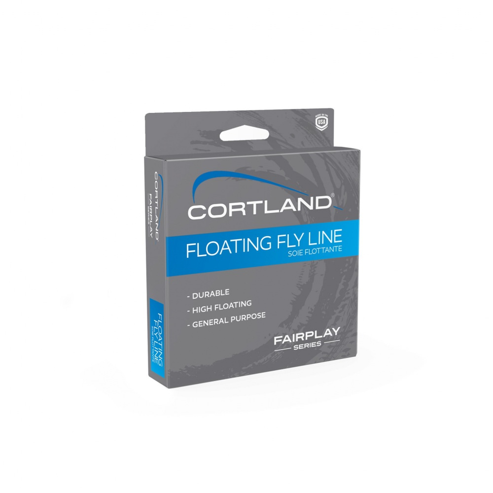 Cortland Fairplay Float Fly Line Wf7F