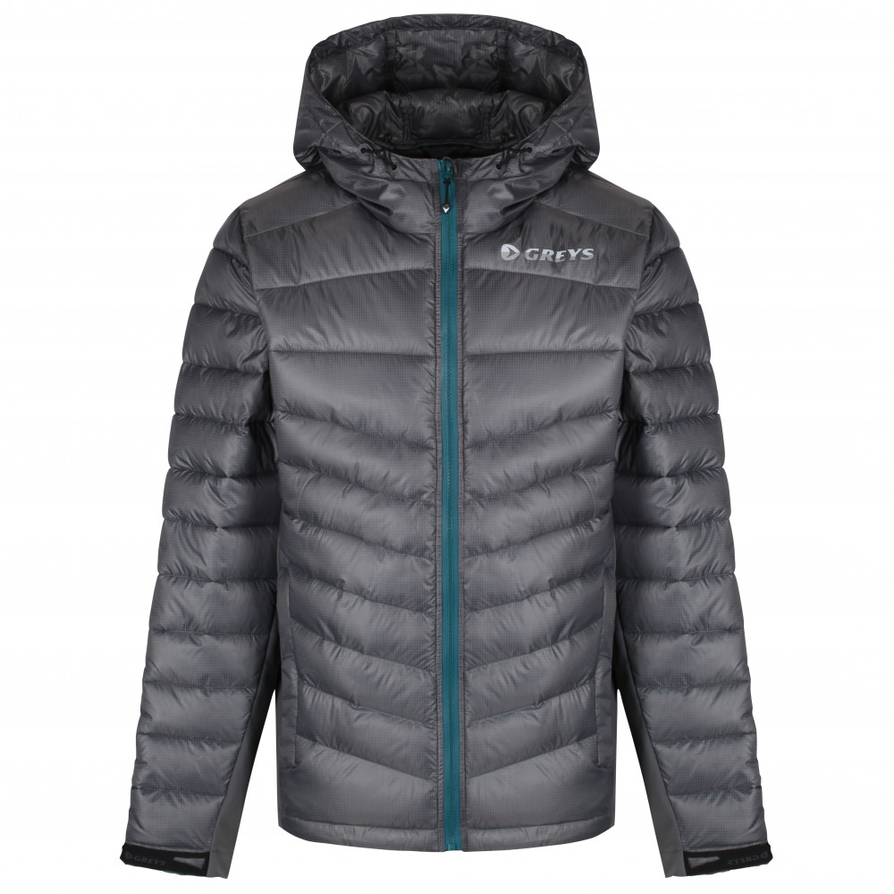 Greys Micro Quilt Jacket (Steel) L