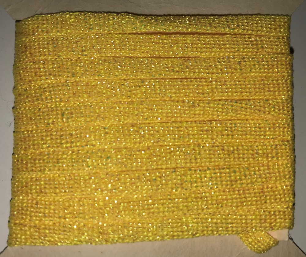 Lureflash - Fishscale Body Tube - Large - Fl. Yellow
