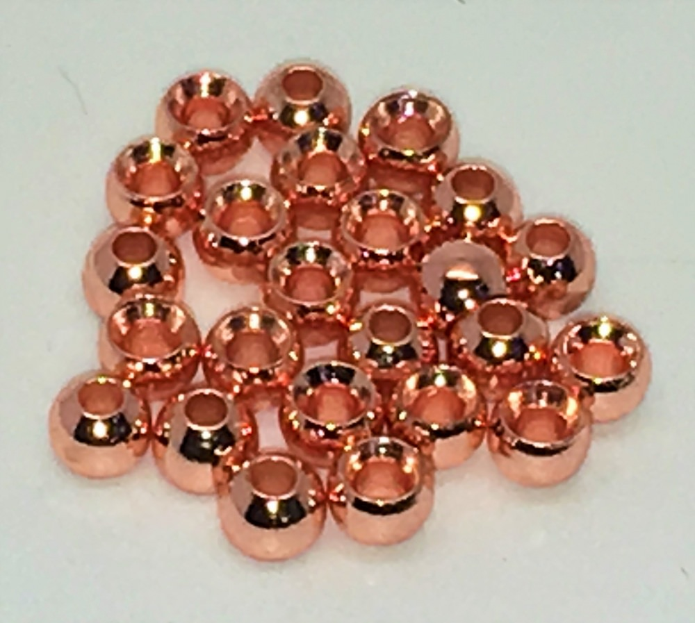 Veniard - Plated Brass Beads - 4.6mm Large - Copper