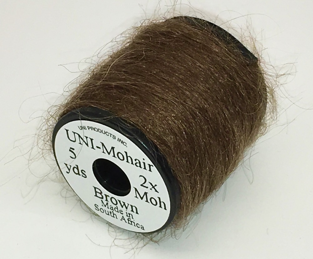 Uni - Mohair - Brown