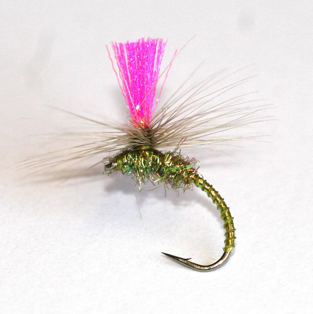 Barbless Nanny Carrs Olive Emerger
