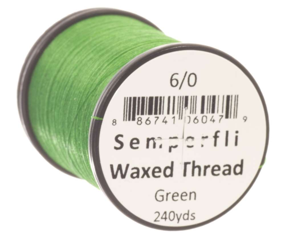 Classic Waxed Thread 6/0 240 Yards - Green