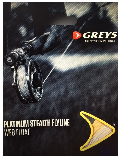 Greys Platinum Stealth Fly Line - Wakesaver WF7 Intermediate 1.5ips