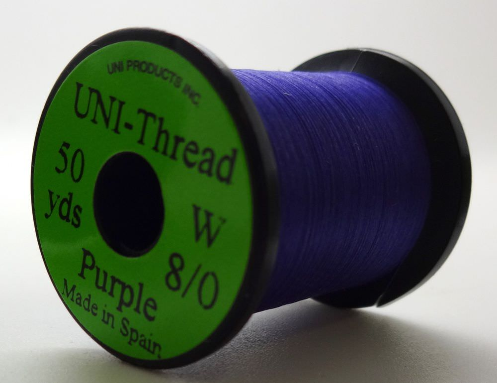 Uni - Pre Waxed Thread - 6/0 - 200 Yards - Purple