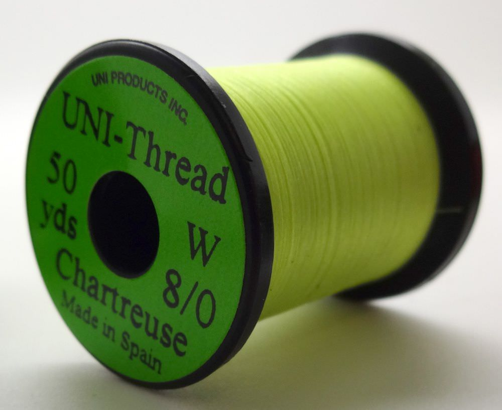 Uni - Pre Waxed Thread - 6/0 - 200 Yards - Chartreuse