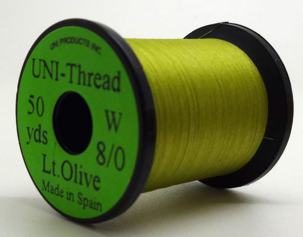 Uni - Pre Waxed Thread - 6/0 - 200 Yards - Light Olive