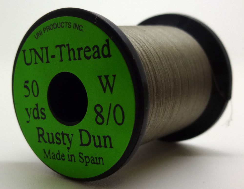 Uni - Pre Waxed Thread - 6/0 - 50 Yards - Rusty Dun