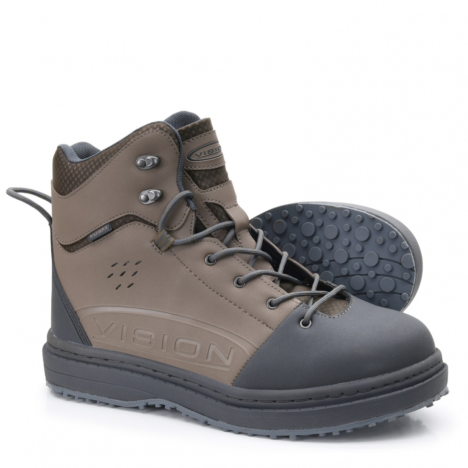 Vision - Wading Boot - Koski Gummi - US #11 - UK #10