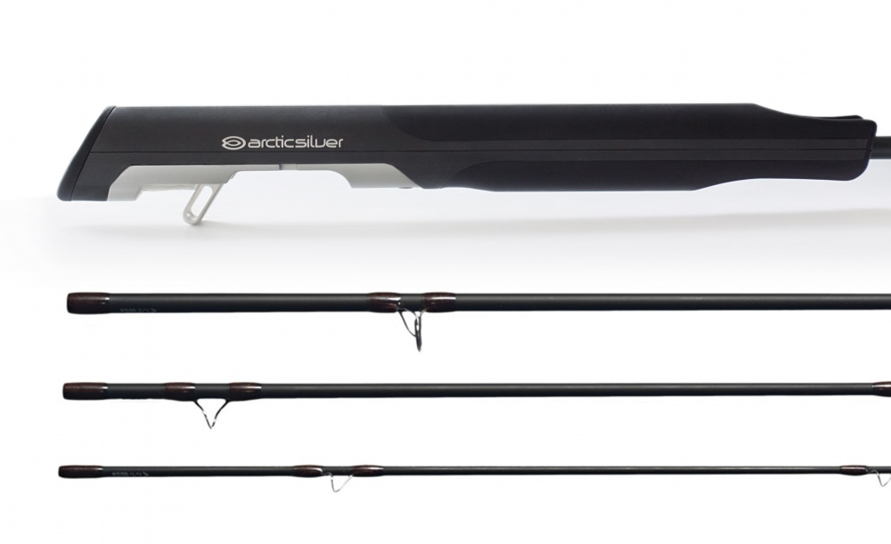 ArcticSilver #6 10' 4psc Medium Action Zense Fly Rod