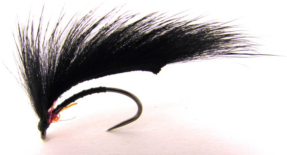Barbless Marsden Mohican Black & Red